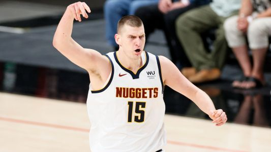 Nuggets' Nikola Jokic ejected for Flagrant 2 foul in Game 4 vs. Suns