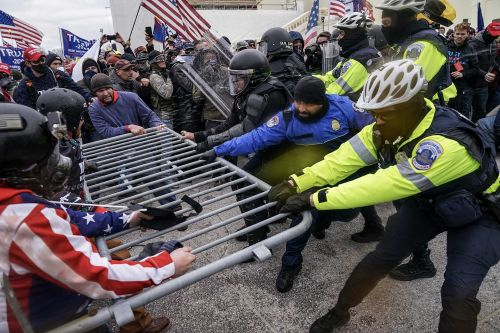 No charges will be filed against officer who shot woman during Capitol riot