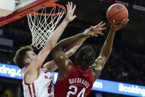 Wisconsin pulls away from Nebraska for 82-68 win