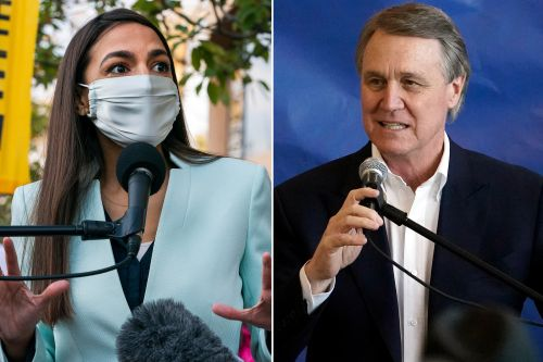Sen. David Perdue invites AOC to Georgia to campaign for his rival John Ossoff