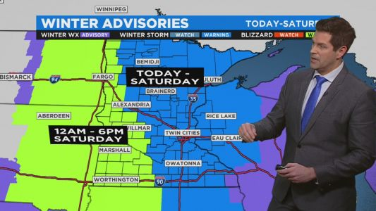 Minnesota Weather: Winter Storm Threatening One-Two Punch Of Heavy Snow, Blizzard Conditions