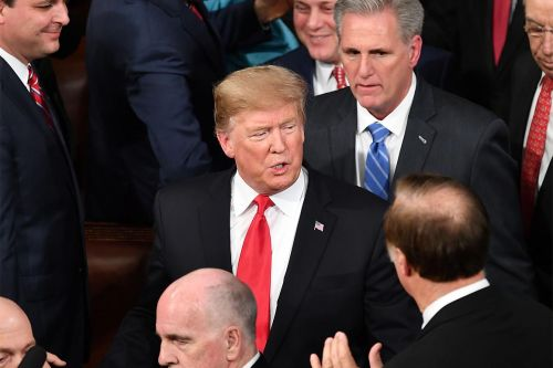 Trump says he told House GOP to 'play along' on Mueller report vote