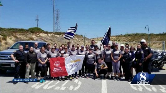 Special Olympics torch took a tour of South Monterey County