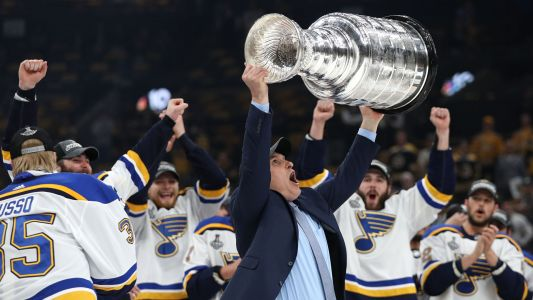 Blues give Craig Berube 3-year deal after historic Stanley Cup run