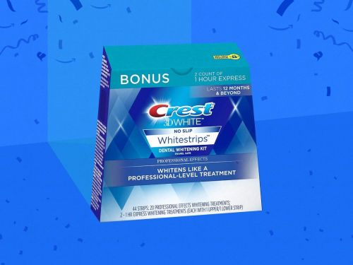 Crest 3D Whitestrips are on major sale right now for Cyber Monday - it's the same great deal we saw on Amazon Prime Day this year