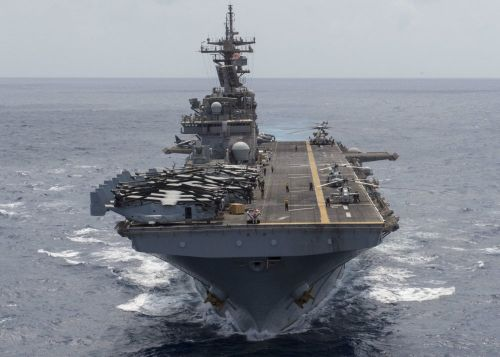 A US warship may have actually taken out more than one Iranian drone that got too close
