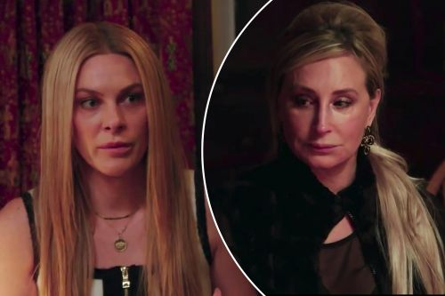 Sonja Morgan gets 'physical' at her 'RHONY' intervention