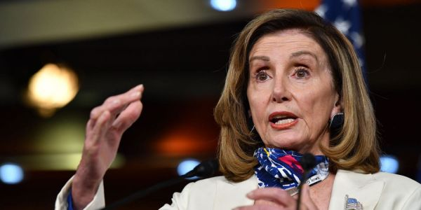 Pelosi strikes an optimistic tone on stimulus negotiations with the White House, saying 'there will be a bill'