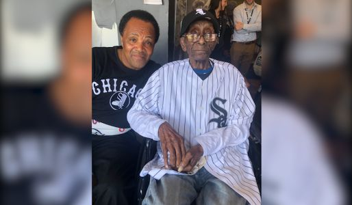 A 112-year-old lifelong White Sox fan celebrated his birthday by attending his very first game