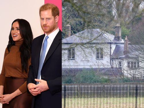 Staff are being moved out of Meghan Markle and Prince Harry's Frogmore Cottage home