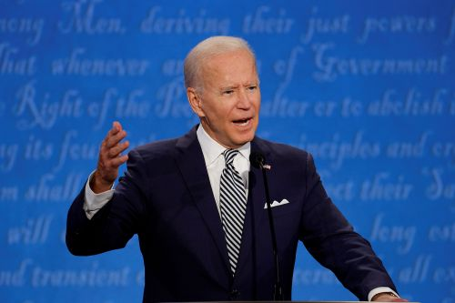'Shut up, man!' Biden refuses to answer court-packing question during presidential debate