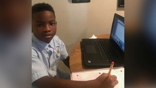 Fourth grader suspended for having a BB gun in his bedroom during virtual learning