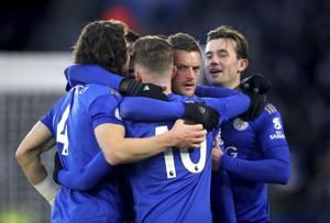 Leicester held 1-1 by Norwich as gap to Liverpool widens