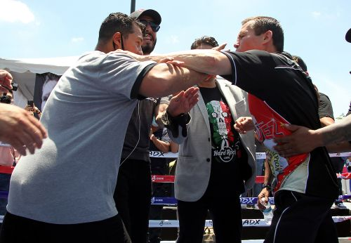 Hector Camacho Jr. honored to share the ring with legend Julio Cesar Chavez