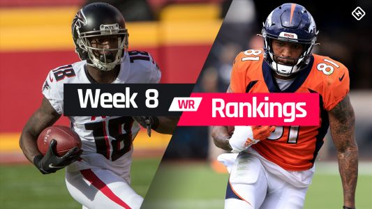 Fantasy WR Rankings Week 8: Who to start, sit at wide receiver in fantasy football