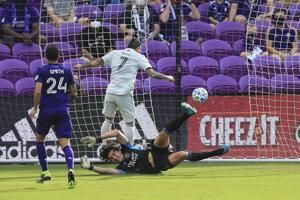 Bou scores twice, New England reaches MLS Eastern finals
