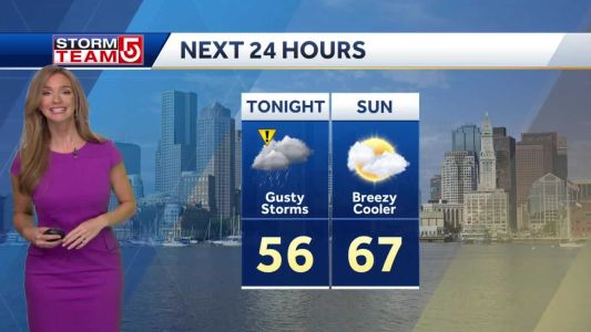 Video- Warm And Windy Ahead of Evening Storms