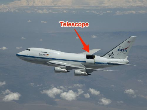 NASA used a Boeing 747 rigged with a massive telescope to discover water on the moon - take a look at SOFIA