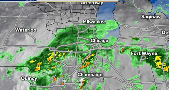VIDEOCAST: Showers Through the Night