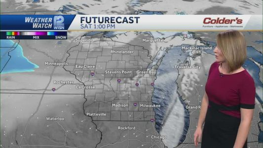 Videocast: Sunny and chilly Saturday