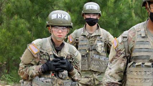 First female enlisted infantry Soldier in the Iowa National Guard