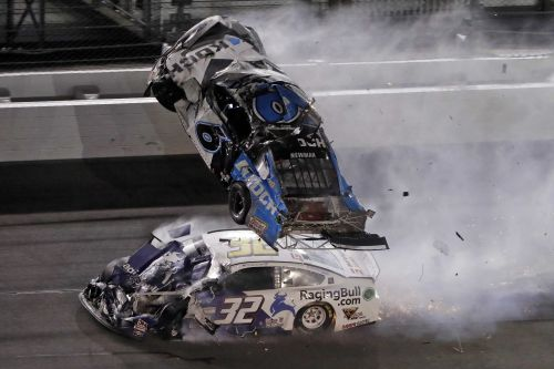 'Fortunate': Newman says he avoided broken bones, suffered head injury in Daytona 500 crash