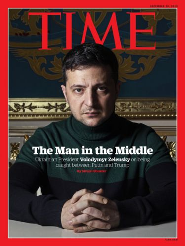 """""""I'm Not Afraid of the Impeachment Questions"""": How Ukrainian President Volodymyr Zelensky Is Navigating His Role in the World's Biggest Political Drama"""