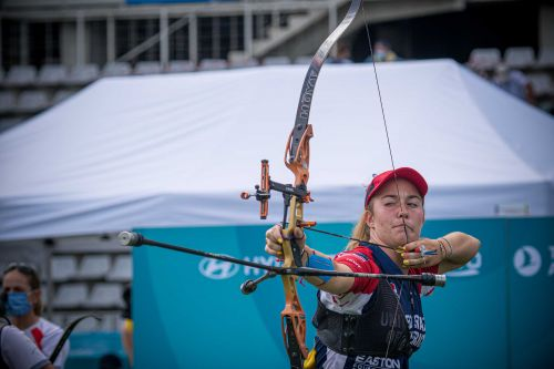 Olympic competition starts for Lancaster County archer