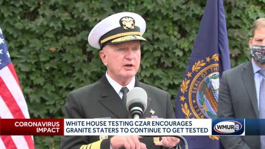 White House testing czar encourages Granite Staters to continue getting tested