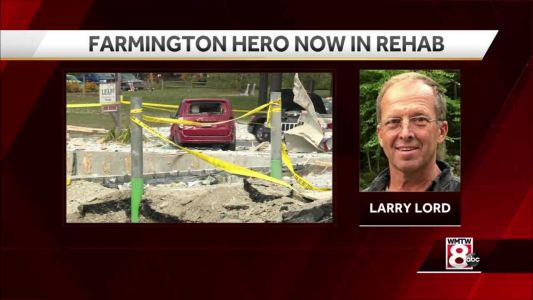 Maine explosion hero Larry Lord moves from hospital to rehab facility