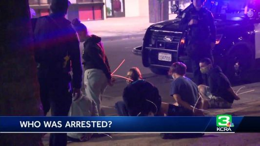 Records: Many arrested Monday for violating curfew were from Sacramento