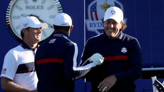 Furyk: Tiger-Phil Ryder Cup pairing unlikely