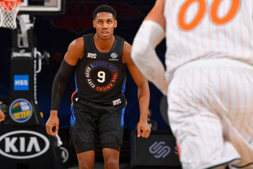 RJ Barrett is blossoming before our eyes in promising Knicks sign