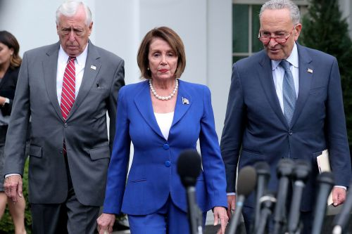Pelosi and Schumer bolt from Syria meeting with Trump after 'meltdown'