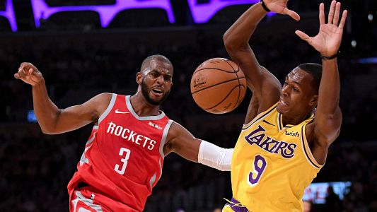 Lakers, Rockets brawl in LA; Chris Paul, Rajon Rondo, Brandon Ingram the principals