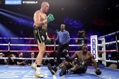 Tyson Fury knocked Deontay Wilder out in the 7th round after an aggressive masterclass