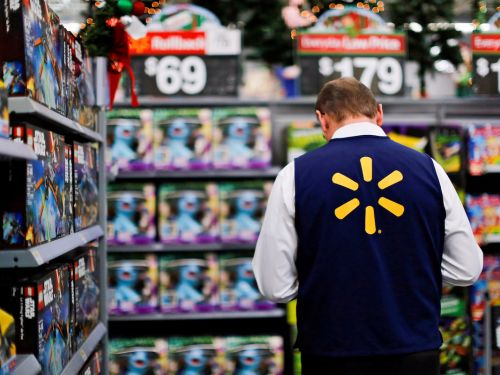 Police say a woman sprayed Lysol in a Walmart cashier's eyes, and it's a stark example of the challenges retail workers face as they manage frantic customers and risk their health