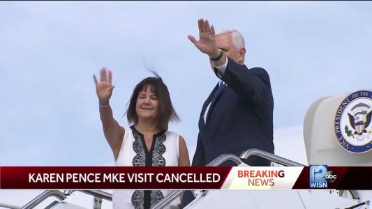 Tropical storm Isaias forces second lady to cancel Milwaukee visit