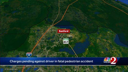 Charges pending against driver in fatal pedestrian accident in Sanford