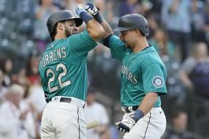 Raleigh, Torrens hit back-to-back HRs, Mariners top A's 4-3