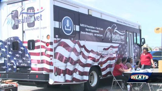 Louisville's VA clinic is taking its vaccine mission on the road