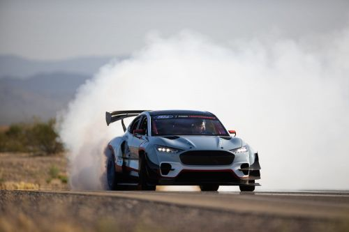 Ford created a one-off Mustang Mach-E that has 1,400 horsepower and can both drift and drag race. Take a closer look