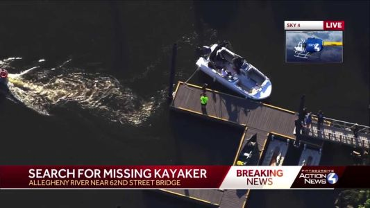 Search happening on Allegheny River after 2 kayakers overturn