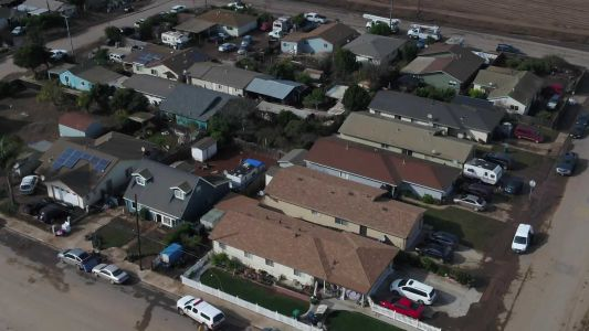WATCH: Drone video shows flood path in Chualar