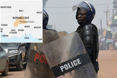 More than 10 officers killed, 4 missing from ambush in Burkina Faso, West Africa