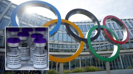 Tokyo Olympics athletes asked to 'lead by example' by taking Covid-19 vaccines after IOC accepts offer from 'proud' Pfizer bosses