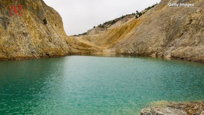 Instagrammers hospitalized after diving into toxic Spanish 'lake' nicknamed the 'Galician Chernobyl'
