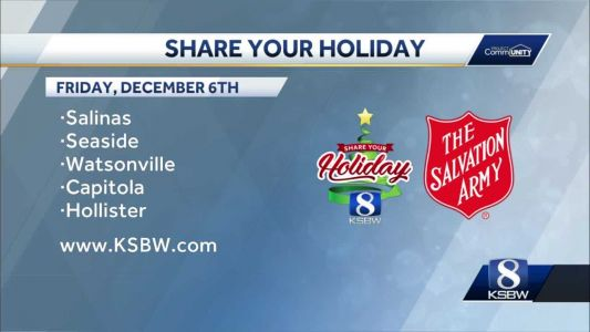 Salvation Army orgs across Central Coast use Share Your Holiday donations locally