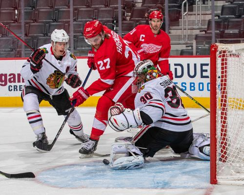 Malcolm Subban leads the way for the Blackhawks in a shutout win over Detroit