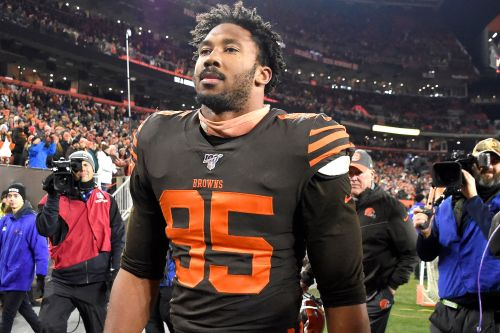 Myles Garrett after helmet-swing fiasco: 'I lost my cool. It's on me'